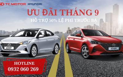 Giá Xe Hyundai Accent Khuyến Mãi Tháng 9/2021